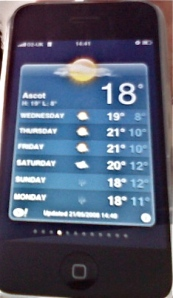 iPhone Weather app